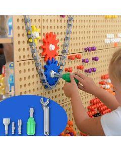 STEM Wall Hand Tools 6pcs