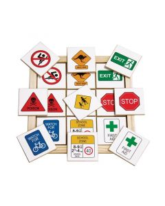 Safety and Traffic Signs Memory Game