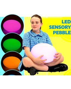 LED Sensory Pebble (not a seat)