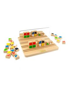 Reflections Learning Board and 30 Pattern Blocks