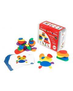 Rainbow Pebbles 36pcs