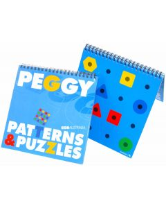 Peggy Patterns and Puzzles Book