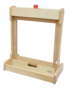 Double-Sided Activity Board Tabletop Stand and Painting Window