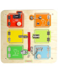 Activity Board - Locks and Hinges