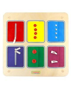 Activity Board - Zippers and Buttons
