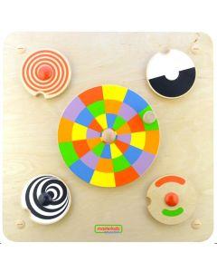 Activity Board - Spinning Wheels