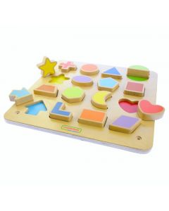 Activity Board - Magnetic Shapes
