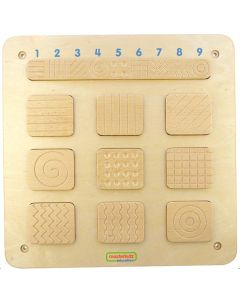 Activity Board - Wooden Tactile Patterns