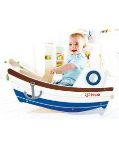 Toddler's Rocking Tugboat