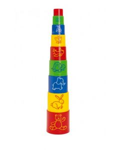 Stacking Play Cups 9pcs