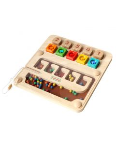 Magnetic Counting and Colours Maze Board