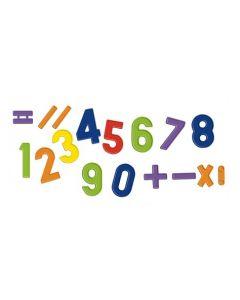 Magnetic Numbers & Symbols 48pcs