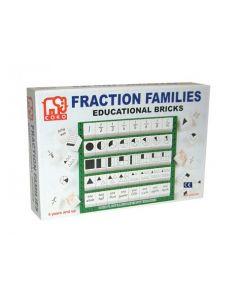 Coko Fraction Families Learning Bricks 40pcs