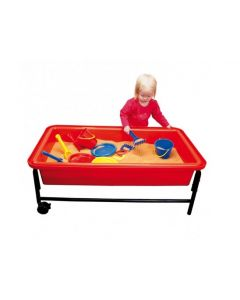 Red Sand & Water Playtray, Frame & Lid 40cmH