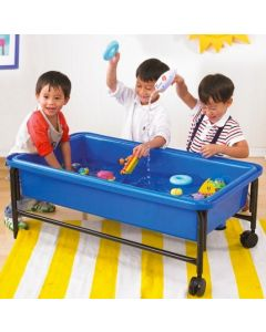 Blue Sand & Water Playtray, Frame & Lid 40cmH