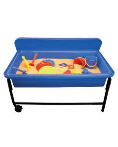 Blue Sand & Water Playtray, Frame & Lid 58cmH