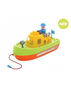 Large Water Police Patrol Boat 31cm