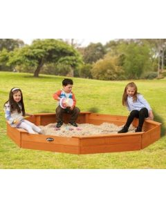 Large Timber Sandpit