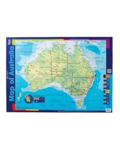 Australia Double-Sided Chart