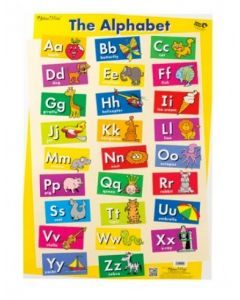 380130 Alphabet & Sight Words Double-Sided Chart