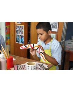 Wooden Decorating Boomerangs 12pcs
