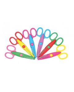 Crazy Craft Scissors 6pcs