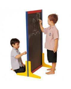 Double Sided Standing Blackboard