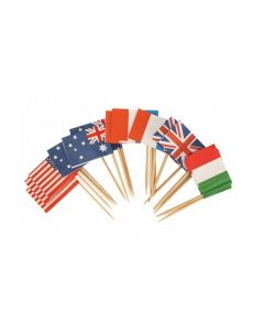 Small Decorating Flags 500pcs