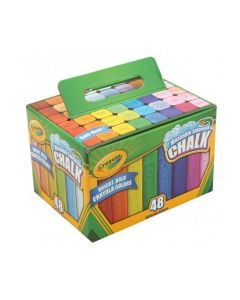 Coloured Sidewalk Chalk 48pcs