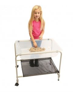 Foldaway Sand & Water Stand With Clear Tray