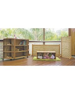 Complete Room Bamboo Furniture 6pcs