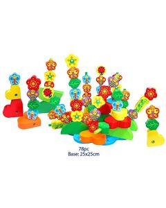 Butterfly and Bee Garden 78pcs