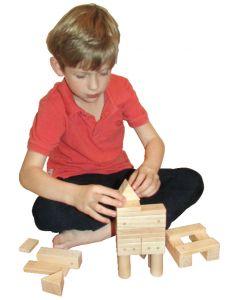 Wooden Magnetic Blocks 30pcs