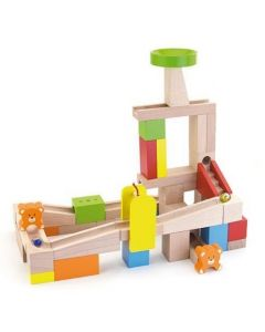 Wooden Marble Track 49pcs