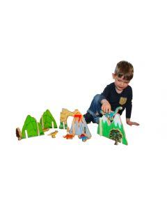 Happy Architect Dinosaur World 22pcs