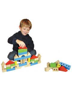 Build 'em Blocks Coloured 42pcs