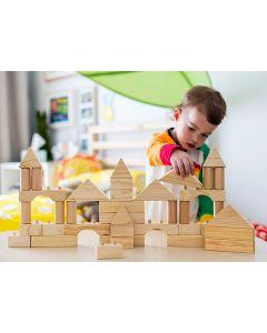 Build 'em Blocks Natural 42pcs