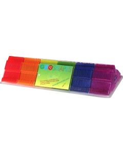 Geoshapes Right-Angled Triangles Crystal Fluoro Pack 84pcs