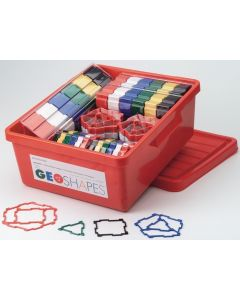 Geoshapes Crystal Fluoro Schools Pack in Tub 480pcs