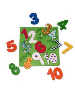 Number Reveal Puzzle 20pcs