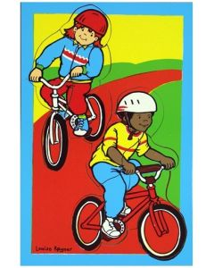Bikes and Helmuts Puzzle 15pcs