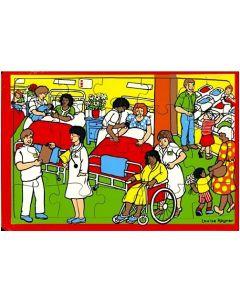 Maternity Hospital Puzzle 24pcs