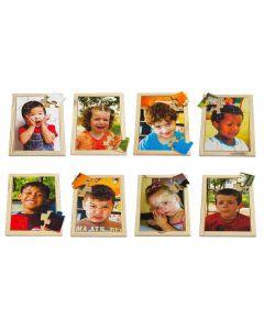 Emotions Puzzles & Posters Set 16pcs
