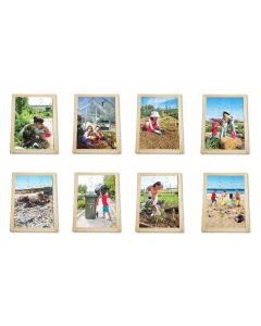 Caring For Our Planet Puzzles & Posters Set 16pcs