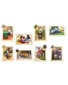 Recycling Puzzles & Posters Set 16pcs