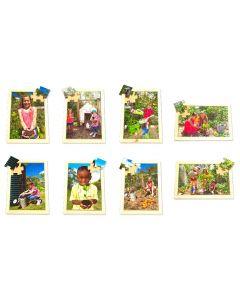 Sustainability Puzzles & Posters Set 16pcs