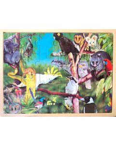 Australian Wildlife Puzzle 24pcs