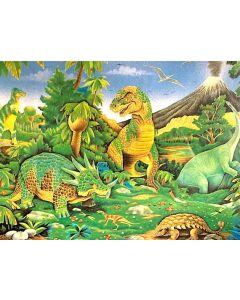 Dinosaurs Floor Puzzle 24pcs