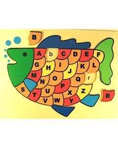 Fish Alphabet Puzzle 32pcs