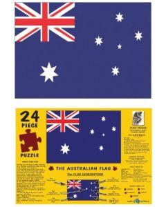 The Australian Flag A3 Puzzle 96pcs
